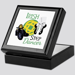 IRISH STEP Dancer Keepsake Box